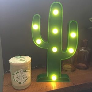 Other - Cactus marquee light